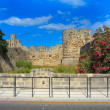 Stock Photo: Rhodos landmark