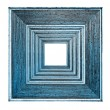 Picture frame blue — Stock Photo #51120359