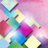 Elegance squares — Stock Vector