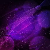 Abstract cosmos vector graphic — Stock Vector