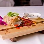 Salmon tartar — Stock Photo #12531257