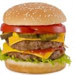 Double Cheeseburger — Stock Photo #12532249