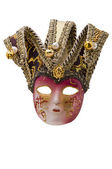 Máscara veneziana — Fotografia Stock