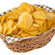Salty snacks — Stock Photo