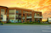 Commercial building — Stock Photo