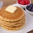 Stack of pancakes — Stock Photo