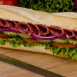 Submarine sandwich — Stock Photo