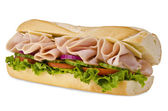 Submarine sandwich — Foto de Stock