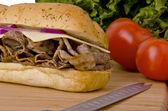 Submarine sandwich — Stock Photo