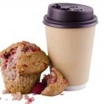koffie en muffin — Stockfoto #33544051