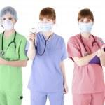 Trio of healthcare specialist — Stock Photo #44751631