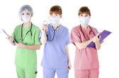 Trio of healthcare specialist — Stock Photo