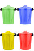 Trash cans — Foto Stock