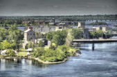 Ottawa River near Ottawa — 图库照片