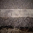 Stock Photo: Grungy, dirty view of asphalt
