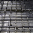 Reinforcement metal framework for concrete pouring. — Stock Photo
