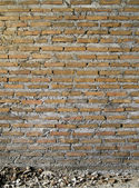 The Background of the Pattern of the Brick Wall — Stock Photo