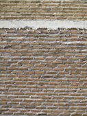 Rote Brickwall-Textur — Stockfoto