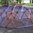 Colorful geodesic dome - Stock Photo