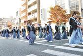 KYOTO - OCT 22: a participants on The Jidai Matsuri ( Festival o — Stock Photo