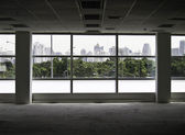 Image of windows in morden office building — Stock Photo