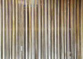 Natural wooden battens — Foto Stock