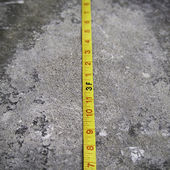 Construction Measuring Tape — Stock Photo