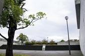 Concrete Plaza of Sayamaike Historical Museum — Stock Photo