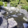 Garden with pond in asian style — Stock Photo #15531551
