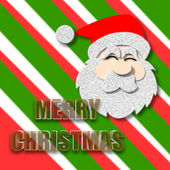Feliz Navidad con santa claus — Foto de Stock