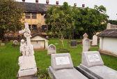 Protestant Cemetery Bangkok — Stock Photo