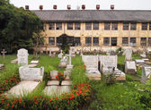 Protestant Cemetery Bangkok, thailand — Stock Photo