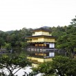 Kinkakuji Temple (The Golden Pavilion) - Stock Photo