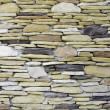 Pattern of decorative stone wall — Foto Stock