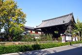 Japnese kiyomizu chrámu v kjótu — Stock fotografie
