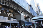 KYOTO, JAPAN - OCT 27: Kyoto Station is Japan's 2nd largest trai — Stock Photo