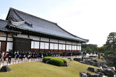 KYOTO- OCT 22: Field visit at Nijo castle — Stock Photo