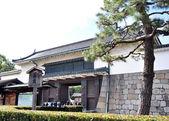 Tourist visiting Nijo Castle in Kyoto. — Stock Photo