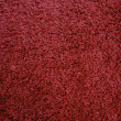 Red carpet texture, close-up — Stock Photo