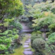Japanese garden in Koto-in temple - Kyoto, Japan - Stock Photo