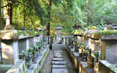 Cemetery at Koto-in a sub-temple of Daitoku-ji — Stock Photo