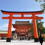 Fushimi Inari Taisha Shrine - Kyoto, Japan — Stock Photo #21166239