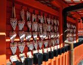 Fox Ema, Japanese votive plaque — Stock Photo