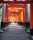 Fushimi Inari Taisha Shrine in Kyoto, Japan — Stok fotoğraf