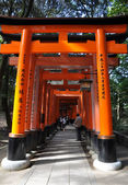 Fushimi Inari Taisha Shrine in Kyoto — Stock Photo