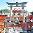 Statue of Goddess at Fushimi Inari Shrine in Kyoto — Foto Stock #21545765