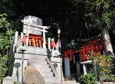 Santuario di fushimi inari-taisha a kyoto in giappone — Foto Stock