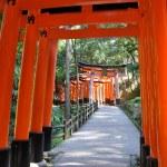 Fushimi Inari Taisha Shrine in Kyoto, Japan — Stock Photo #21606631