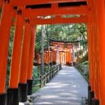Fushimi Inari Taisha Shrine in Kyoto, Japan — Stock Photo