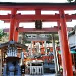 Fushimi Inari-taisha Shrine in Kyoto Japan — Stock Photo